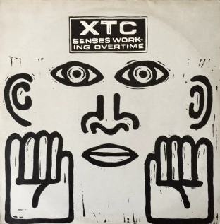 "XTC - Senses Working Overtime (12"") (VG+/G-VG)"